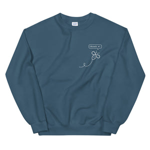 Bee thank you ladies' sweatshirt - VARANDA DESIGN