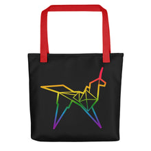Load image into Gallery viewer, Origami unicorn color tote bag - VARANDA DESIGN