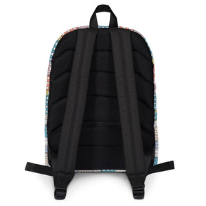Backpack wishes in the buidings by Varanda Design - back