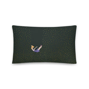 Let me fall pillow by Varanda Design - size 20x12in