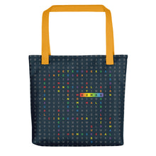 Load image into Gallery viewer, Human LGBTQ ally allover tote bag