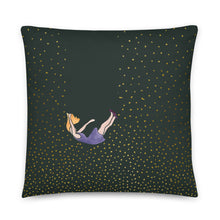 Load image into Gallery viewer, Let me fall pillow by Varanda Design - size 22x22in front