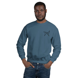 Origami unicorn men's sweatshirt - VARANDA DESIGN