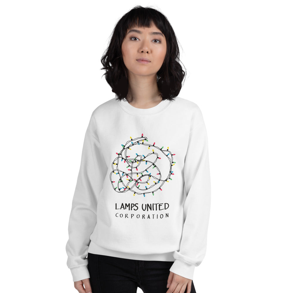 Lamps united corporation ladies' sweatshirt - VARANDA DESIGN
