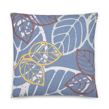 Load image into Gallery viewer, Pillow leaves by Varanda - 22x22 (in) - back