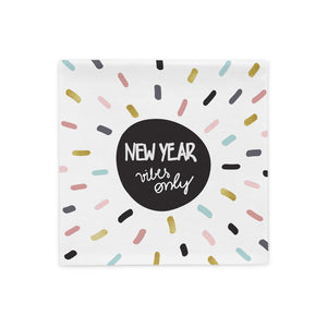 New Year vibes pillowcase