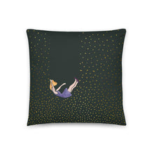 Load image into Gallery viewer, Let me fall pillow by Varanda Design - size 18x18in
