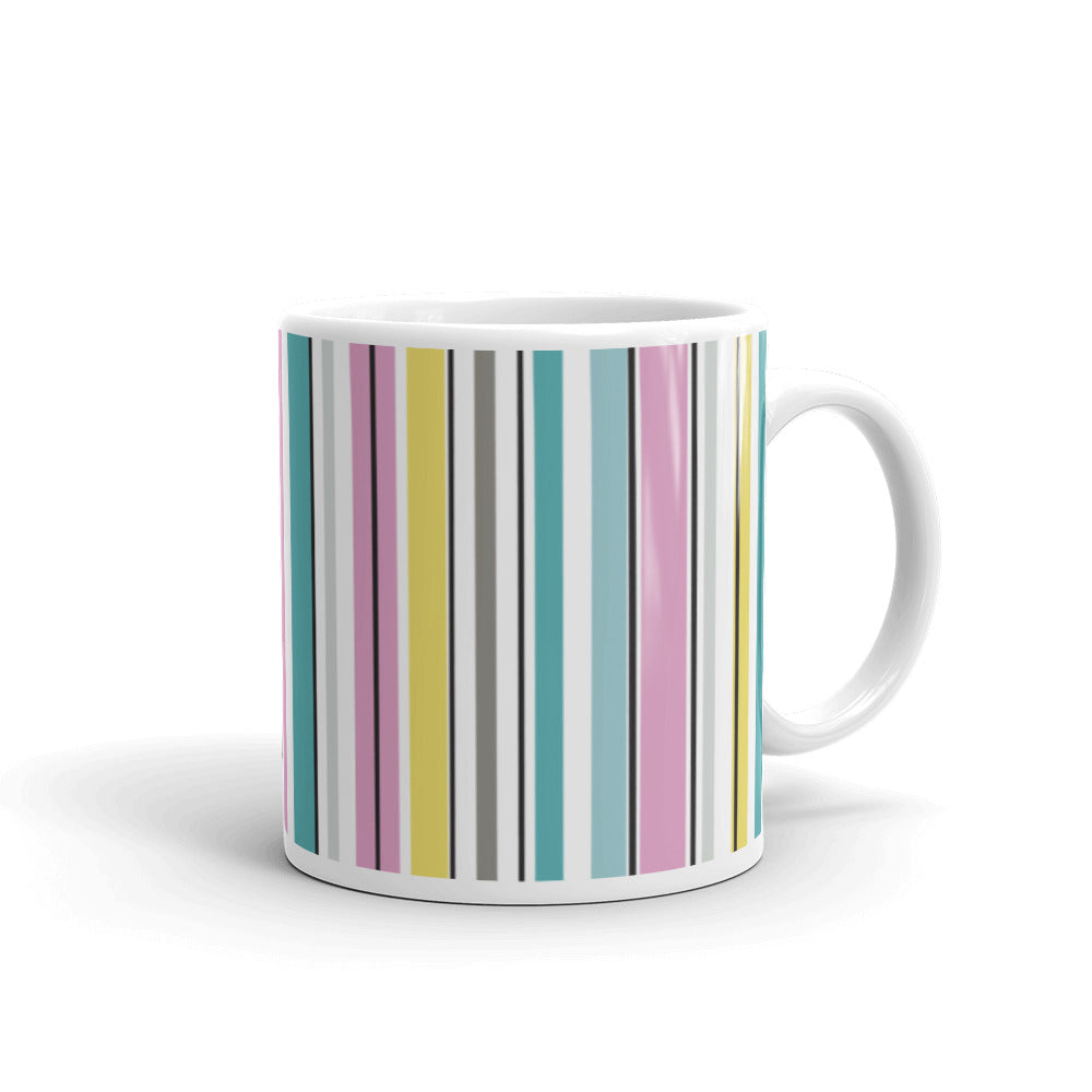Basic forms GYP stripes mug - VARANDA DESIGN