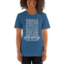 Load image into Gallery viewer, Whatever I want lettering ladies' t-shirt - VARANDA DESIGN