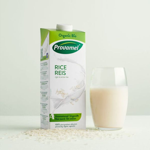 PROVAMEL Org Rice Drink                     Size - 12x1Lt - Mintons Good Food | Food Wholesaler & Contract Packaging | Pre Pack & Healthfoods | Wales