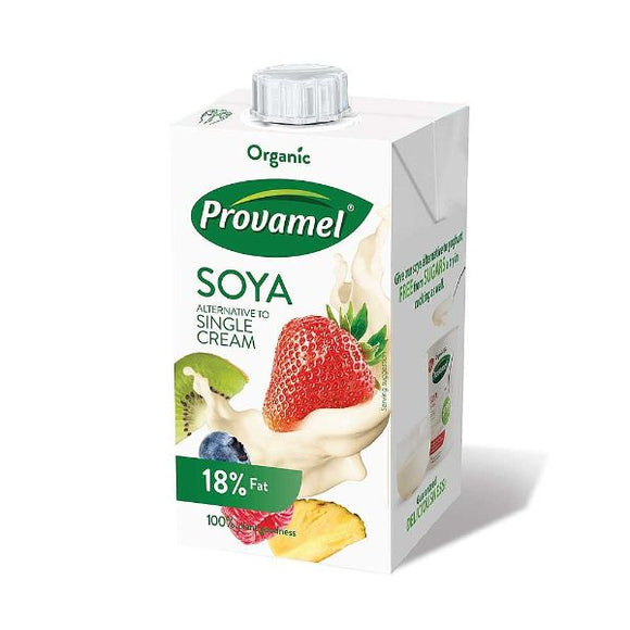PROVAMEL Org Soya Dream                     Size - 15x250ml - Mintons Good Food | Food Wholesaler & Contract Packaging | Pre Pack & Healthfoods | Wales