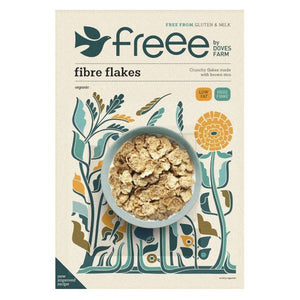 Mintons Good Food DOVES BREAKFAST Gluten Free Fibre Flakes           Size - 5x375g