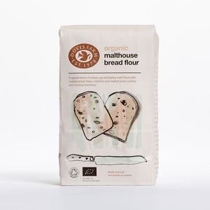 Mintons Good Food DOVES FLOUR Organic Malthouse Flour            Size - 5x1Kg