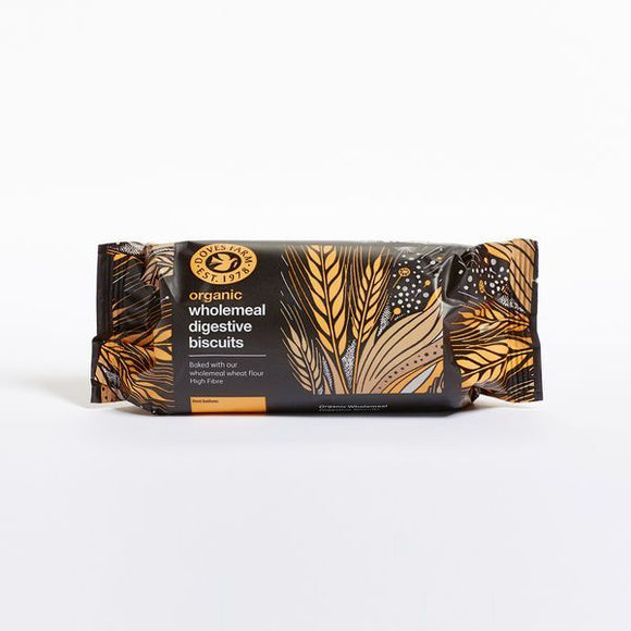 Mintons Good Food DOVES BISCUITS Organic Digestives Biscuits        Size - 12x200g