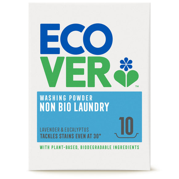 ECOVER LAUNDRY, Mintons Good Food, ECOVER LAUNDRY Washing Powder (Non Bio)           Size - 6x750g,