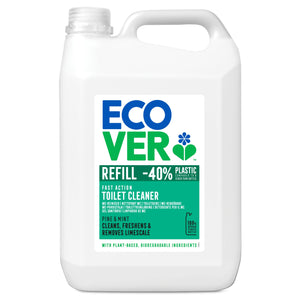 ECOVER CLEANING Toilet Cleaner Pine Fresh          Size - 1x 5Lt - Mintons Good Food | Food Wholesaler & Contract Packaging | Pre Pack & Healthfoods | Wales