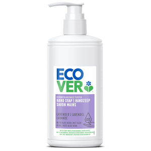 ECOVER PERSONAL Liquid Hand Soap Lavender & Aloe   Size - 6x250ml - Mintons Good Food | Food Wholesaler & Contract Packaging | Pre Pack & Healthfoods | Wales