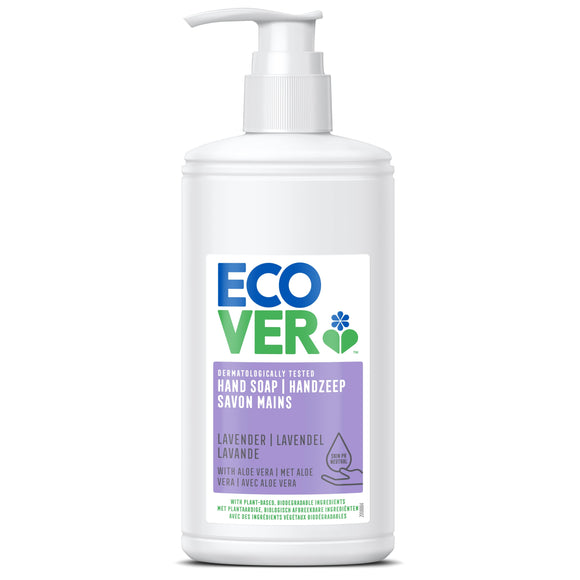 Mintons Good Food ECOVER PERSONAL Liquid Hand Soap Lavender & Aloe   Size - 6x250ml