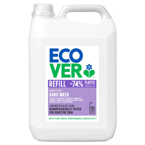 ECOVER PERSONAL Liquid Hand Soap                   Size - 1x5Ltr - Mintons Good Food | Food Wholesaler & Contract Packaging | Pre Pack & Healthfoods | Wales