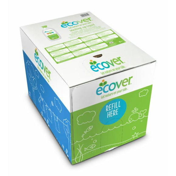 ECOVER REFILLS, Mintons Good Food, ECOVER REFILLS Wash Up Liquid Lemon/Aloe Vera     Size - 1x15Lt,