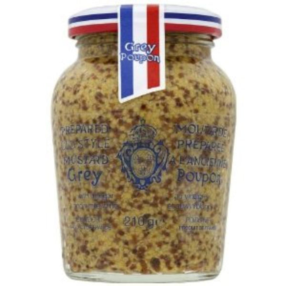 CLIPPER INFUSION, Mintons Good Food, GREY POUPON Wholegrain Mustard                 Size - 6x210g,