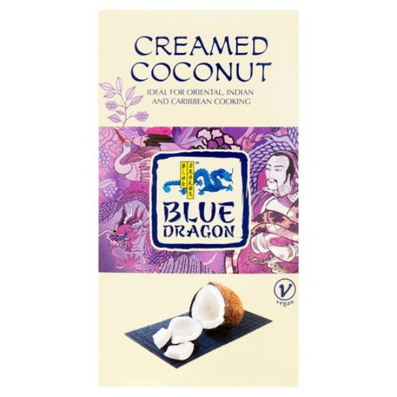 Mintons Good Food BLUE DRAGON COCONUT Creamed Coconut Block              Size - 12x200g