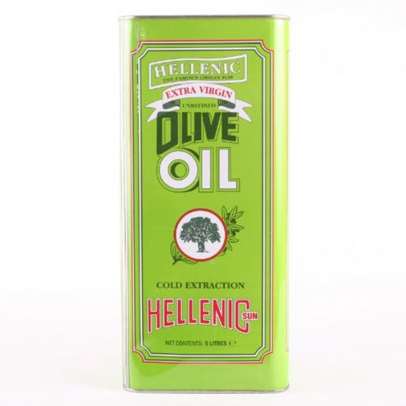HELLENIC, Mintons Good Food, HELLENIC Extra Virgin Olive Oil             Size - 1x 5Lt,
