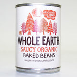 Mintons Good Food WHOLE EARTH Organic Baked Beans                Size - 12x400g