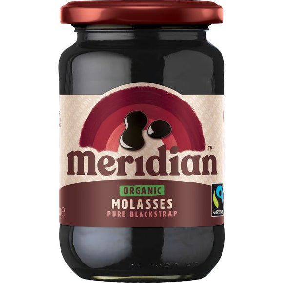 MERIDIAN EXTRACTS Organic Blackstap Molasses         Size - 6x600g