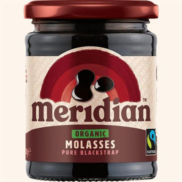 MERIDIAN EXTRACTS Organic Molasses                   Size - 6x350g - Mintons Good Food | Food Wholesaler & Contract Packaging | Pre Pack & Healthfoods | Wales