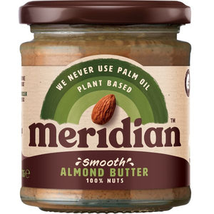 Mintons Good Food MERIDIAN NUT BUTTERS Almond Smooth Butter 100%       4. Size - 6x170g