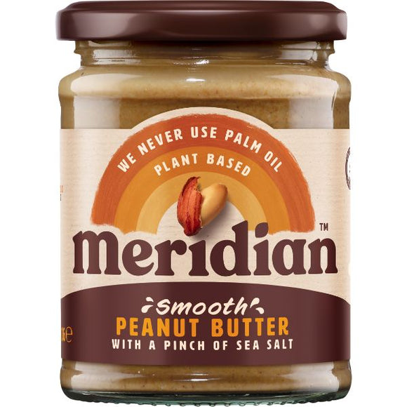 Mintons Good Food MERIDIAN NUT BUTTERS Peanut Butter Crunchy With Salt    Size - 6x280g