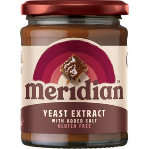 Mintons Good Food MERIDIAN EXTRACTS Yeast Extract B12  Salt            Size - 6x340g