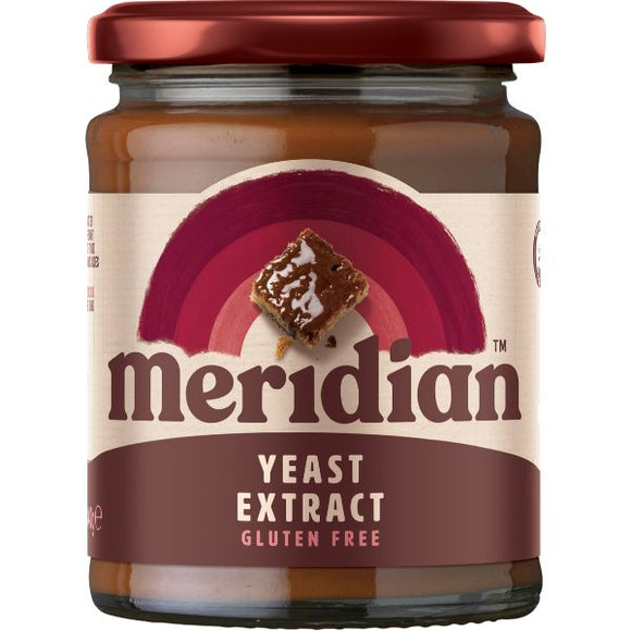 Mintons Good Food MERIDIAN EXTRACTS Yeast Extract  B12 No Salt         Size - 6x340g