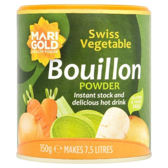 Mintons Good Food MARIGOLD Swiss Vegetable Bouillon Green     Size - 6x150g