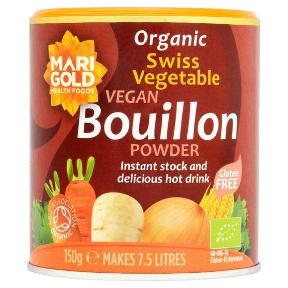Mintons Good Food MARIGOLD Organic Swiss Vegetable Bouillon   Size - 6x150g