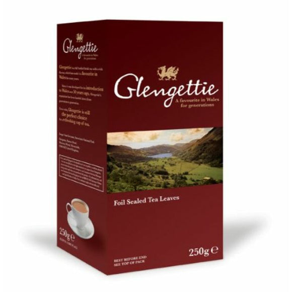 Mintons Good Food GLENGETTIE Welsh Tea Loose                    Quantity : Size - 12x250g