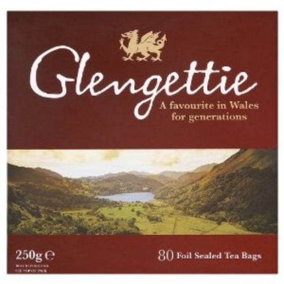 GLENGETTIE, Mintons Good Food, GLENGETTIE Welsh Tea Bags                     Size - 6x80's,