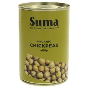 Mintons Good Food SUMA Organic Chickpeas                  Size - 12x400g