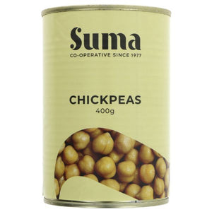 DOVES GLUTEN FREE, Mintons Good Food, SUMA Chickpeas                          Size - 12x400g,