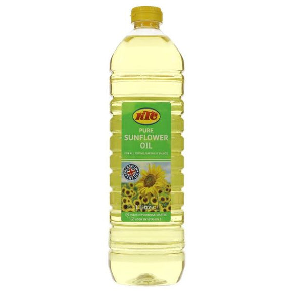 Mintons Good Food KTC Sunflower Oil Refined              Size - 6x1Ltre