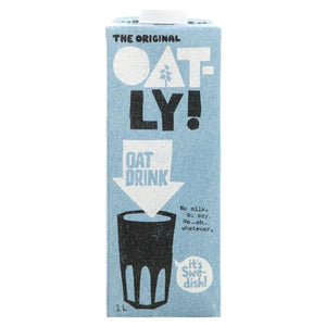 OATLY Oatly Enriched Added Calcium Drink Size - 6x1L