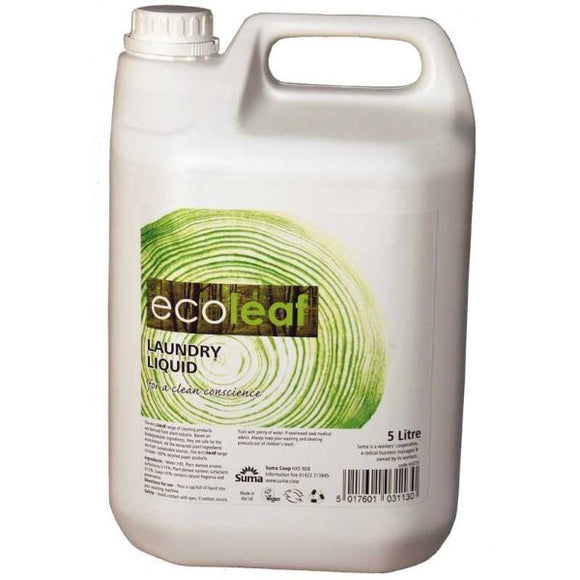 Mintons Good Food ECOLEAF Laundry Liquid                     Size - 1x5Ltr