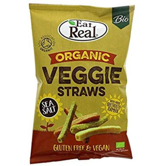 Mintons Good Food EAT REAL Org Veggie Straws                  Size - 10x100g