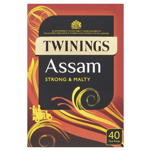 Mintons Good Food TWININGS CLASSICS Assam Tea Bags                     Size - 4x 40bags