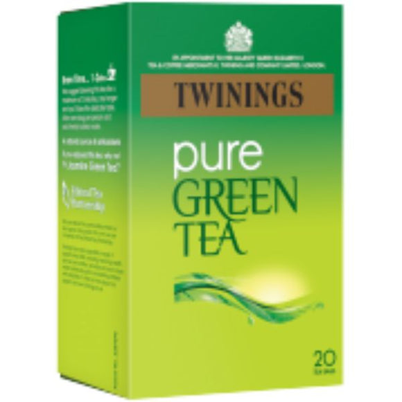 Mintons Good Food TWININGS GREEN TEAS Green Tea Pure Tea Bags            Size - 4x20bags