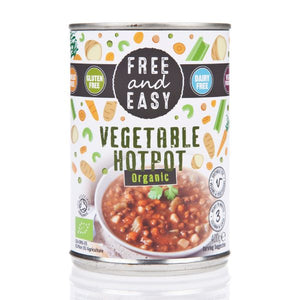 FREE & EASY Org Vegetable Hotpot               Size - 6x400g