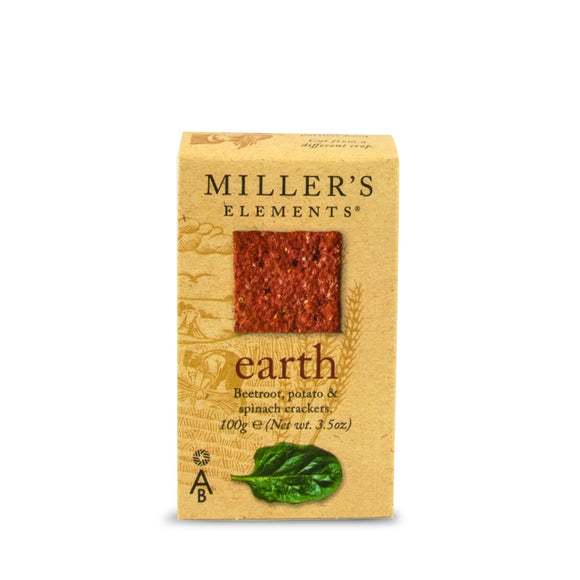 Mintons Good Food ARTISANBISCUITS Earth Crackers                     Size - 12x100g