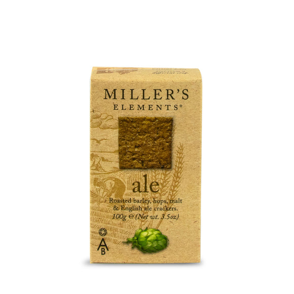 Mintons Good Food ARTISANBISCUITS Ale Crackers                       Size - 12x100g