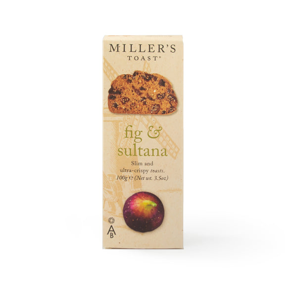 Mintons Good Food ARTISANBISCUITS Fig & Sultana Toast                Size - 6x100g